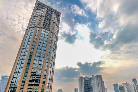 BANGKOK, THAILAND - NOVEMBER 5, 2016: The Emporium Shopping Mall, Bangkok Skylines on Sukhumvit road. Editorial