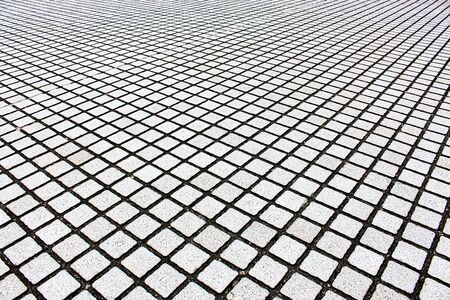 Pattern of stone brick floor