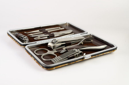 Tools of manicure set