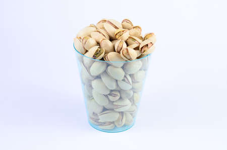 Pistachio nut in a cup