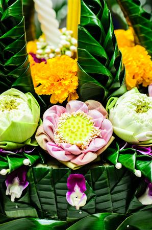 flower basket: floating flower basket craft