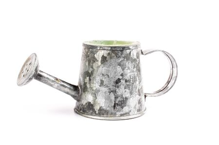 watering pot: garden watering can,watering pot Stock Photo
