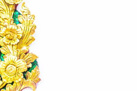 thai craft: flower texture background ,thai craft