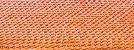 roof tile: roof tile pattern background Stock Photo
