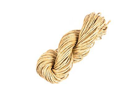 fixed line: rollo de cuerda de la textura, arpillera