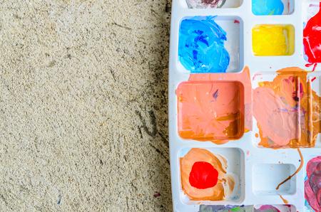 primary colours: color pallet