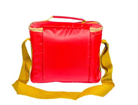 insulated: Red insulated bag,food container