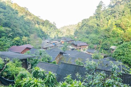 mae kampong village ,small village at the northern of Thailand,Mae kampong ,Chiangmai