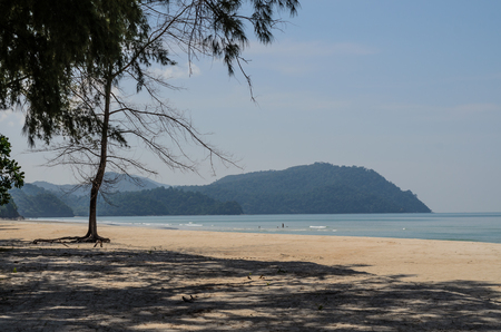 white sand beach at the south of Thailand Stockfoto