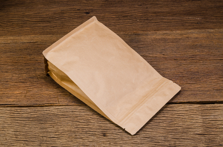 Brown Kraft Paper Bag,Aluminium foil coffee bag