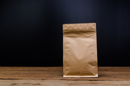 Brown Paper Bag,Aluminium foil coffee bag