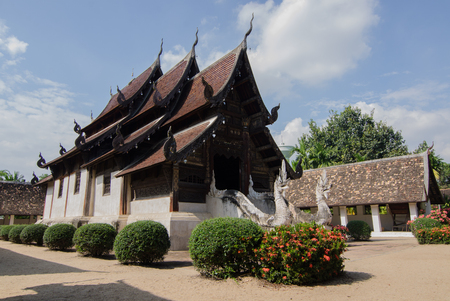 ancient church in the north Thailand,Wat ton kwen
