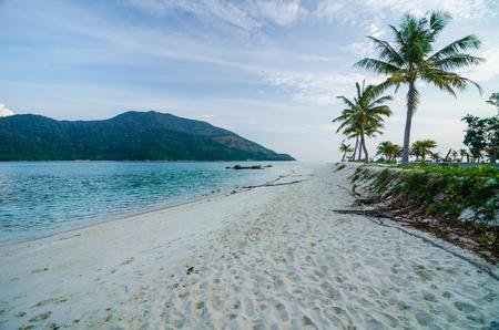 white sand beach at the south of Thailand ,Lipe island ,Thailand Stockfoto