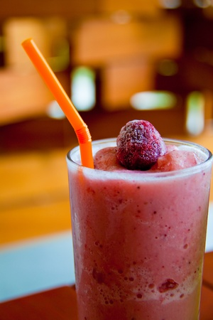slurp: strawberry smoothie