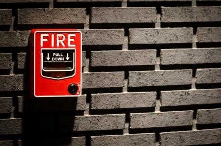 finger on trigger: Fire Prevention Stock Photo