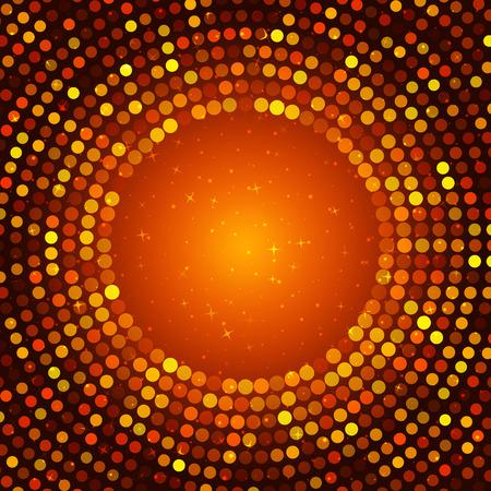 disco lights: Happy New Year - disco lights frame