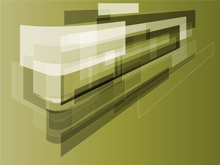 bent: Bent rectangles abstract background vector illustration design