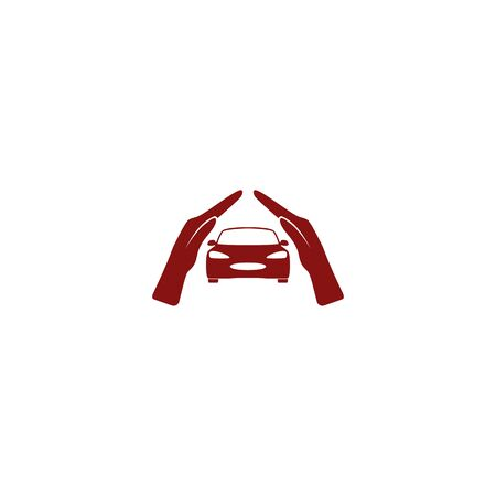 advocacy: car insurance icon, on white background