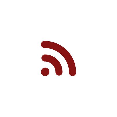 wireless hot spot: Wi-Fi symbol icon. Vector illustration