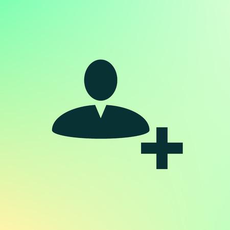 User profile web icon vector illustration design