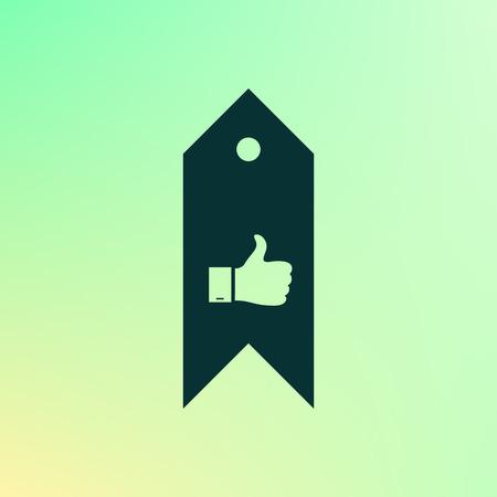 bookmark: Bookmark symbol vector illustration