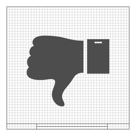 disapprove: Like and Dislike button