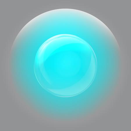 Soap bubble stock vector icon illustration design