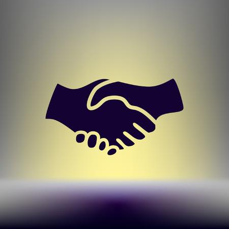 fellowship: Handshake Icon