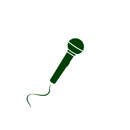 voices: Microphone Icon Vector Illustration