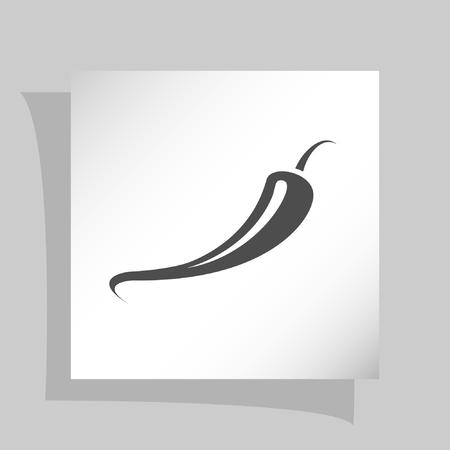 jalapeno: Jalapeno peppers symbol icon vector illustration design Illustration