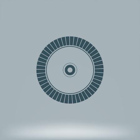 saw blade: Diamond circle for concrete cutting