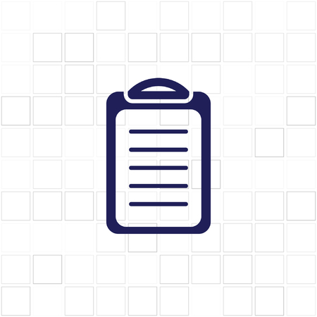 accordance: Check list icon illustration