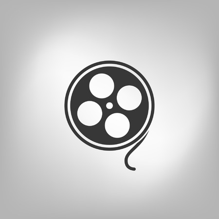 industry electronic: film reel icon