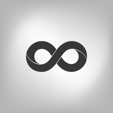 eternally: Limitless sign icon. Infinity symbol Isolated