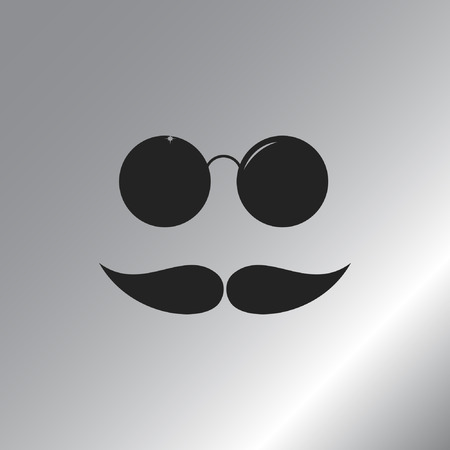3568 Wear A Mustache Stock Vector Illustration And Royalty Free