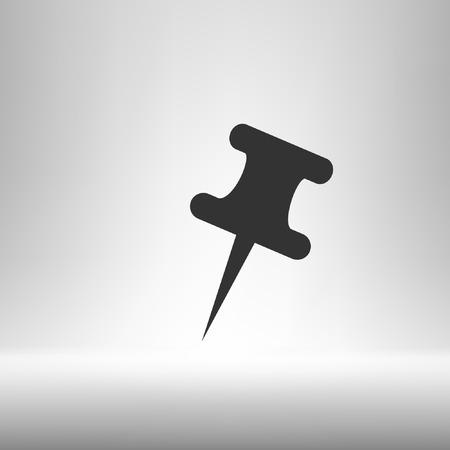 tack: Push pin icon
