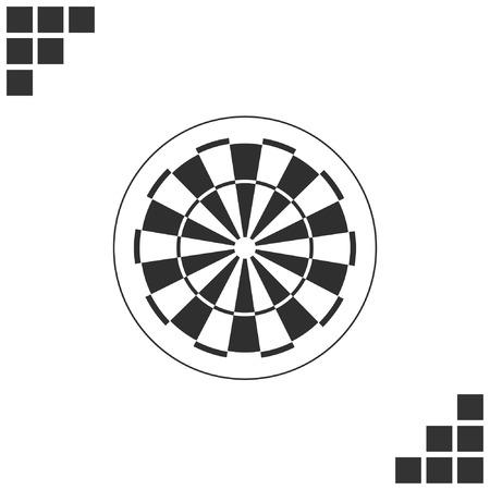 ダーツ ボード シンボル アイコン