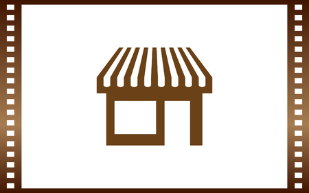 convenient: Showcase icon vector illustration Illustration