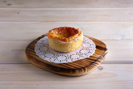 Pasteis de Nata, Portuguese Custard Tarts Stock fotó