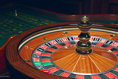 Casino Roulette with ball. Winning combination. Reklamní fotografie