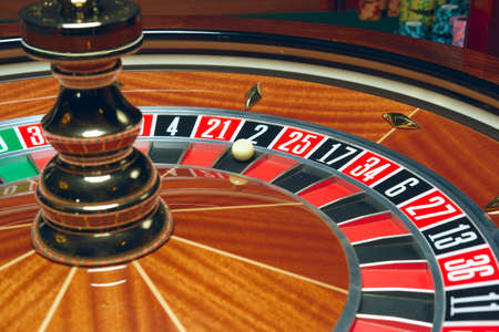 Casino Roulette with ball