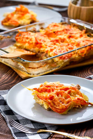 Meat and potato casserole - simple country food