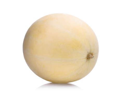 honeydew melon(sunlady) isolated on white background Banco de Imagens