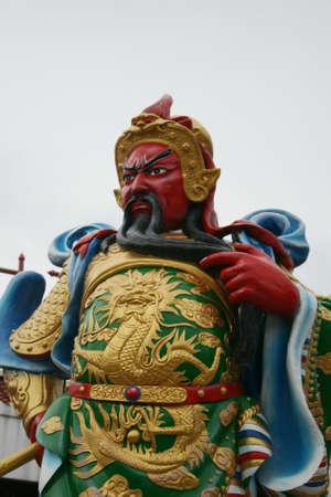 Kwnao god of china culture Stock Photo - 15384700