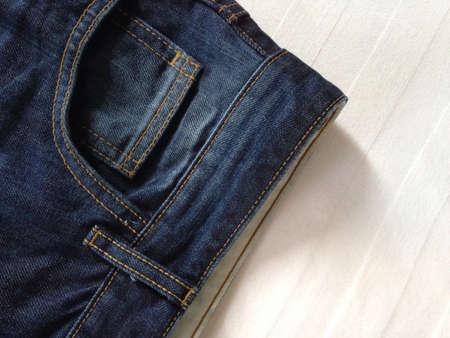 jeans: Jeans pocket Stock Photo