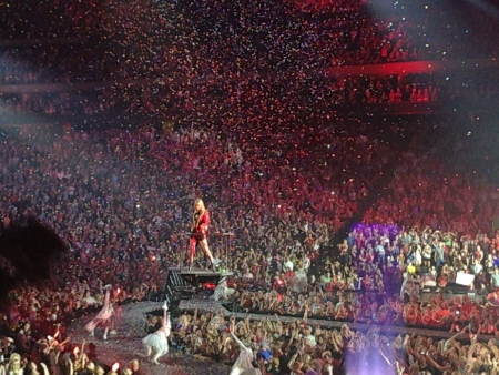 swift: Taylor Swift in the concert