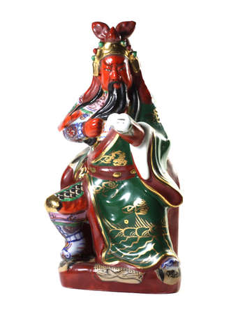 Guan Yu with ceramic photo