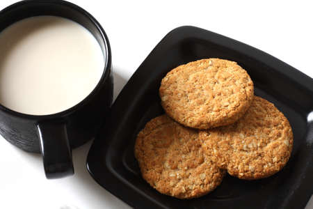 cookie with milk photo