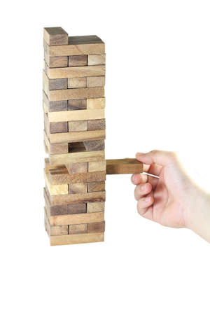 play jenga photo