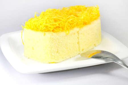 Foythong cake, Gold Egg Yolks Thread Cake photo
